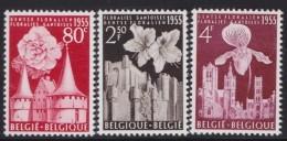 Belgie    .    OBP   .     961/963       .     **     .    Postfris ZONDER  Charnier    .  / .  Neuf SANS  Charniere - Neufs