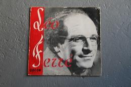 DISQUE VINYLE 25 Cm ANNÉE 1960 LEO FERRE - Autres Collections
