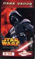 Magnets Magnet Cinema Star Wars Le Gaulois 9/28 Dark Vador - Non Classés