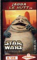 Magnets Magnet Cinema Star Wars Le Gaulois 8/28 Jabba Le Hutt - Unclassified