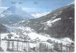 Wallis - Saas Grund - Gesamtansicht   - AK -71522 - VS Valais