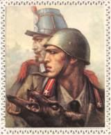 Collage Patriotisch Italen Legion Cairoli - Kreative Hobbies