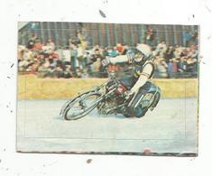 Chromos & Images , AUTOCOLLANT ,Interimage,n°270 , Sport Automobile,Moto , Ice Rice ,Jawa 500 Grenoble,B. Kindgren - Vieux Papiers