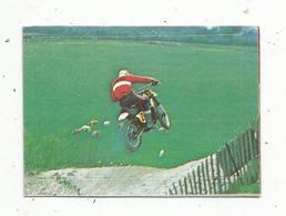Chromos & Images , AUTOCOLLANT ,Interimage,n°249 , Sport Automobile,Moto , Yamaha 500 Cc , J. Van Welthoven - Vieux Papiers