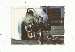 Chromos & Images , AUTOCOLLANT ,Interimage,n°174 , Sport Automobile, Top Fuellers - Vieux Papiers