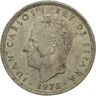 Monnaie, Espagne, Juan Carlos I, 25 Pesetas, 1975, B+, Copper-nickel, KM:808 - [ 5] 1949-… : Royaume