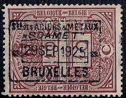 BELGIQUE - BELGIE - TAXES FISCALES - 1925 - Vignettes D'affranchissement