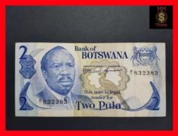 BOTSWANA 2 Pula 1976  P. 2 VF - Botswana