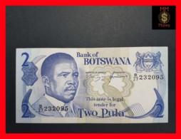 BOTSWANA 2 Pula 1982  P 7 XF - Botswana