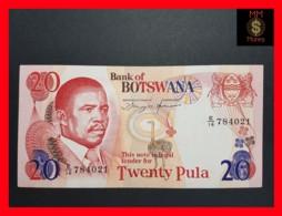 BOTSWANA 20 Pula 1982 P.  10  VF ++ - Botswana