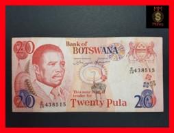 BOTSWANA 20 Pula 1992  P. 13 VF - Botswana