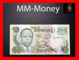 BOTSWANA 10 Pula 1999 P. 20 A  UNC - Botswana