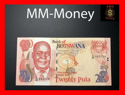 BOTSWANA 20 Pula 2004  P. 27 A  UNC - Botswana