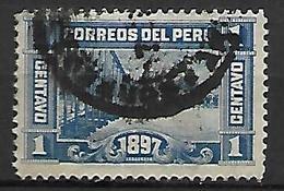 PEROU   -   1897  .  Y&T N° 120 Oblitéré. - Peru
