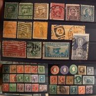 Etats-Unis D'Amérique - Lot De Timbres Anciens - Stamps