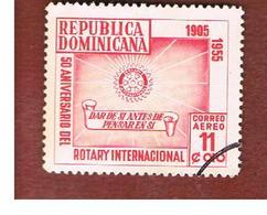 REPUBBLICA DOMENICANA (DOMINICAN REPUBLIC)  - SG 637  -  1955  ROTARY INTERNATIONAL         - USED - Repubblica Domenicana