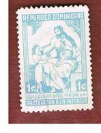 REPUBBLICA DOMENICANA (DOMINICAN REPUBLIC)  - SG 835  -  1961  CHILD WELFARE         - USED - Repubblica Domenicana