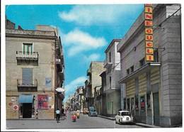 Barrafranca (Enna). Corso Garibaldi. Tappo Birra Peroni. Coca Cola. Fanta - Enna