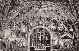 Firenze - Cartolina GESÙ CHE VA AL CALVARIO, LA CROCIFISSIONE, GESÙ NEL LIMBO, Di S. MARTINI - P69 - Pittura & Quadri