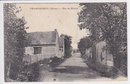 51 CHAMPIGNEUL Rue Du Moulin - France