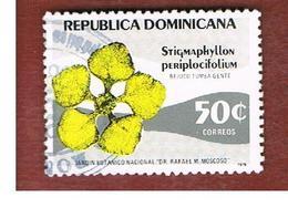 REPUBBLICA DOMENICANA (DOMINICAN REPUBLIC)  - SG 1360  -  1979 BOTANICAL GARDENS: FLOWER      - USED - Repubblica Domenicana