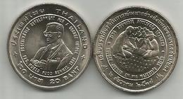 Thailand 20 Baht 1996. (2539) FAO WORLD FOOD SUMMIT Y#335 - Thaïlande