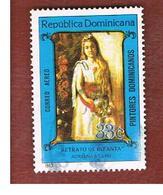 REPUBBLICA DOMENICANA (DOMINICAN REPUBLIC)  - SG 1562  -  1983  PAINTINGS: A. BELLINI     - USED - Repubblica Domenicana