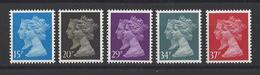 GRANDE-BRETAGNE. YT 1434/1438  Neuf **  Série Courante. 150e Anniversaire De La Création Du 1er Timbre-Poste  1990 - Nuovi