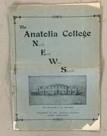 TURKEY  GREECE  THE ANATOLIA COLLEGE NEWS   SALONIQUE  NR. 4-5   1930. - History