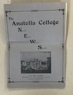 TURKEY  GREECE  THE ANATOLIA COLLEGE NEWS   SALONIQUE  NR. 1.   1930. MARSOVAN - History
