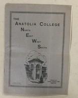 TURKEY  GREECE  THE ANATOLIA COLLEGE NEWS   SALONIQUE  NR. 5-6.   1930. - Geschiedenis