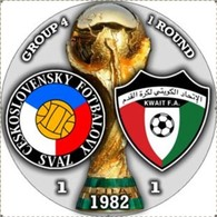 Pin FIFA World Cup 1982 Group 4 Round 1 Czechoslovakia Vs Kuwait - Calcio