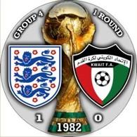 Pin FIFA World Cup 1982 Group 4 Round 1 England Vs Kuwait - Calcio