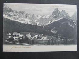 AK San Martino Di Castrozza 1900 //  D*34015 - Italien
