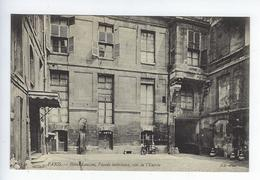 CPA Paris Hôtel Lauzun Façade Intérieure Côté De L'Entrée - Distrito: 04