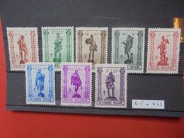 BELGIQUE COB N° 615-22 NEUF MNH** - Belgique