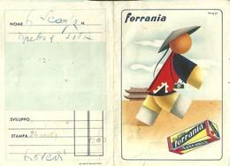 """1062 """" CARTELLINA PORTA FOTO E NEGATIVI DELLA FERRANIA """" FOLDER ORIGINALE - Supplies And Equipment"""