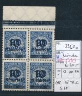 D.-Reich Nr. 4x 335 A  OPD  **    (ee5143  )siehe Scan....! - Ungebraucht