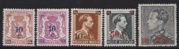Belgie    .    OBP   .     568/572        .   **     .    Postfris ZONDER  Charnier    .  / .  Neuf SANS  Charniere - Unused Stamps