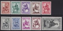 Belgie    .    OBP   .     583/592        .   **     .    Postfris ZONDER  Charnier    .  / .  Neuf SANS  Charniere - Unused Stamps
