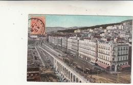 Algeri, Le Boulevard Post Card Affrancata Ma Non Viaggiata 1908 - Algeri