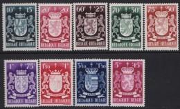 Belgie    .    OBP   .   716/724     .     **     .    Postfris ZONDER  Charnier    .  / .  Neuf SANS  Charniere - Unused Stamps