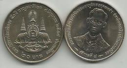 Thailand 20 Baht 1996. (2539) Y#321  50th Anniversary Of The Reign Of Rama IX - Thaïlande