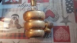 Carafe Doré à L'or Fin De Laeken Avec 1 Verre - Verre & Cristal