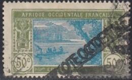 Côte D'Ivoire 1913-1944 - Griffe Sur N° 69 (YT) N° 75 (AM). Oblitération. - Côte-d'Ivoire (1892-1944)
