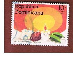 REPUBBLICA DOMENICANA (DOMINICAN REPUBLIC)  - SG 1624  -  1985  CHRISTMAS  - USED - Repubblica Domenicana