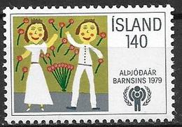 Islande 1979 N° 496 Neuf ** MNH Année De L'enfant - 1944-... Repubblica