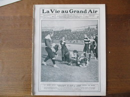 LA VIE AU GRAND AIR N°391 DU 9 MARS 1906 GRILLE DE SURESNES,DE CATERS,TENNIS A MONTE-CARLO,24 HEURES AU VELODROME D'HIVE - 1900 - 1949