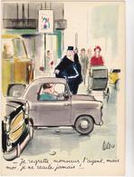 TETSU  Ed Yvon N°45 - Humour Voiture Gendarme Agent Circulation - CPSM 10.5x15 BE 1967 Neuve - Autres Illustrateurs
