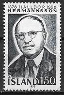 Islande 1978 N° 491 Neuf ** MNH Halldor Hermansson - 1944-... Repubblica